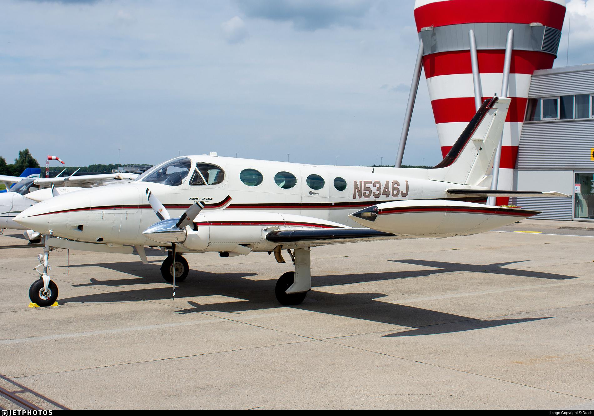 N5346J - Cessna 340A - Private