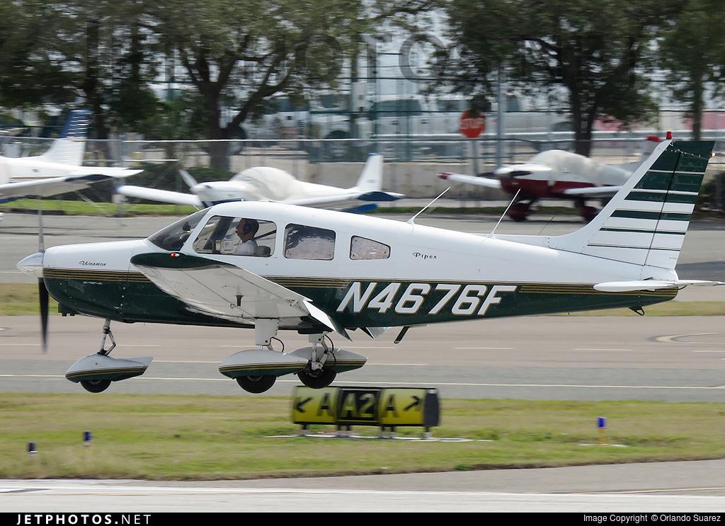 N4676F - Piper PA-28-151 Cherokee Warrior - Private