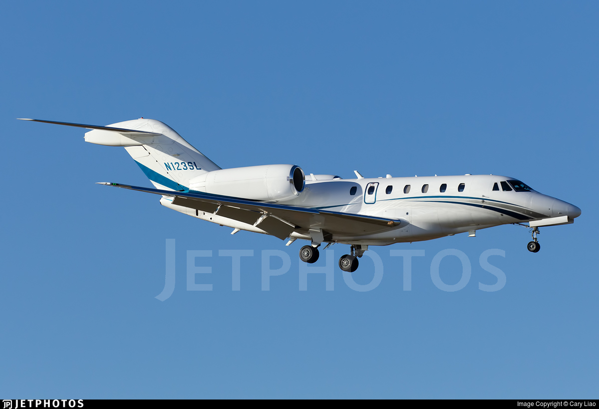 N123SL - Cessna 750 Citation X - Private