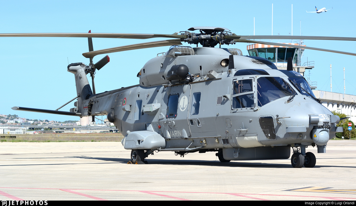 MM81610 - NH Industries SH-90A - Italy - Navy