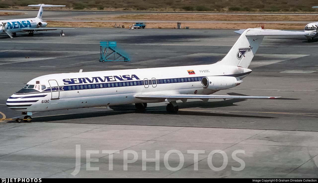 YV-613C - McDonnell Douglas DC-9-32 - Servivensa