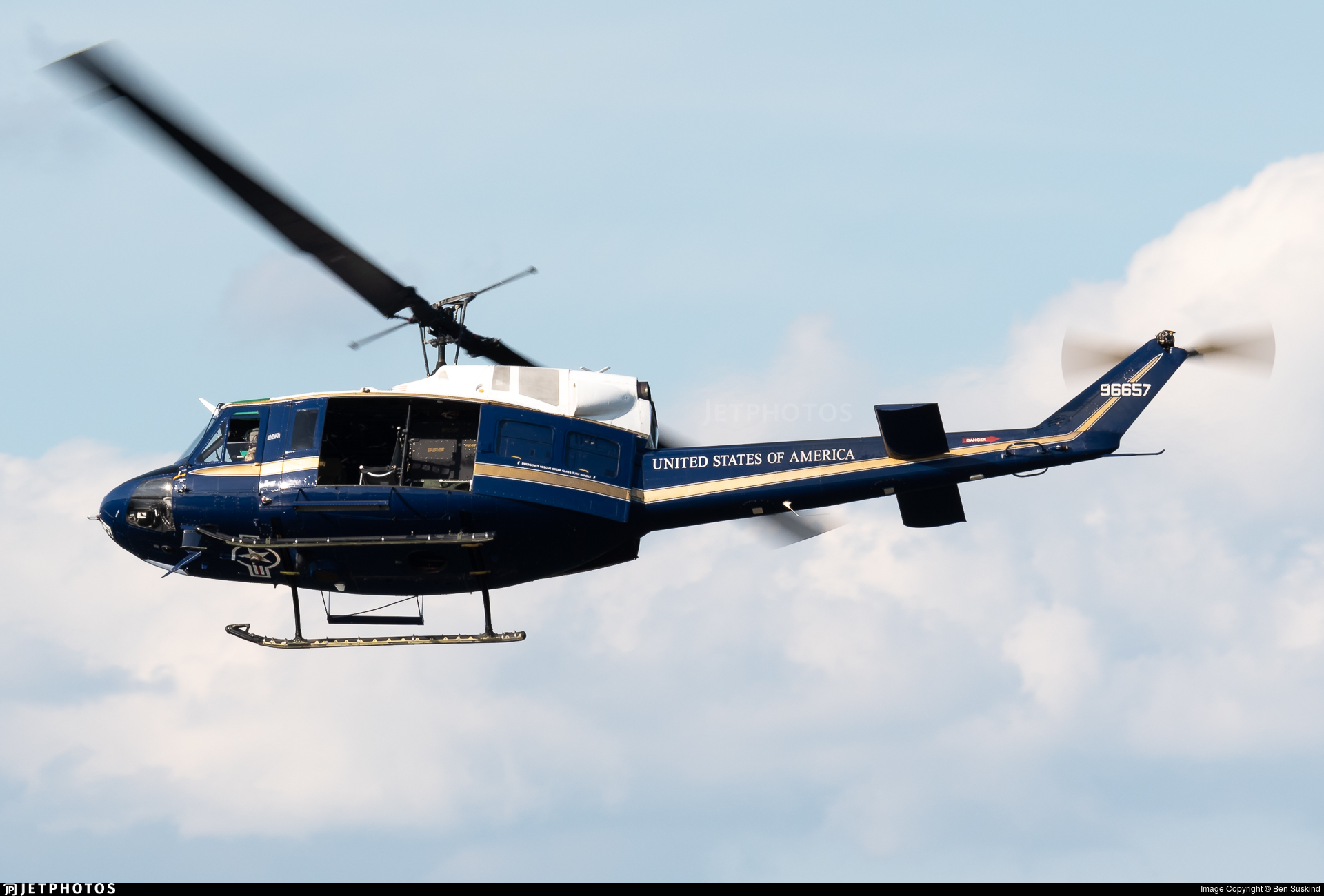 69-6657 - Bell UH-1N Iroquois - United States - US Air Force (USAF)