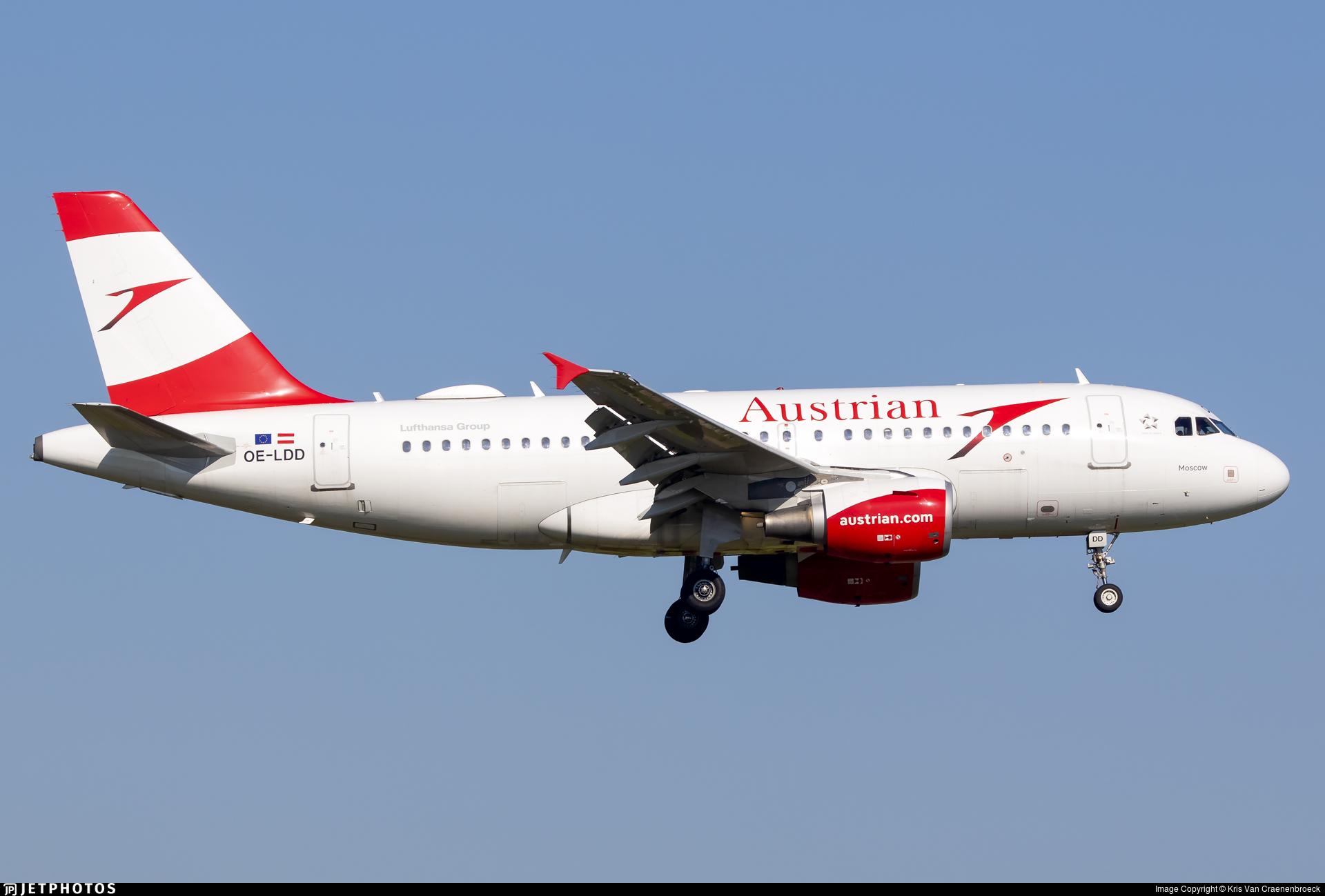 OE-LDD - Airbus A319-112 - Austrian Airlines