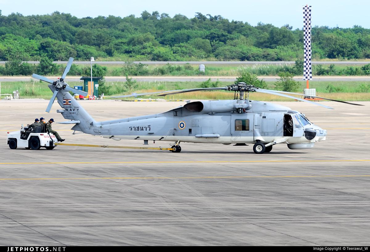 3201 - Sikorsky S-70B Seahawk - Thailand - Royal Thai Navy