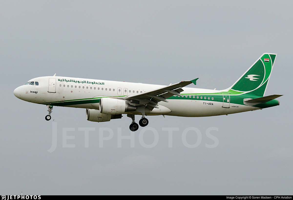 YI-ARA - Airbus A320-214 - Iraqi Airways