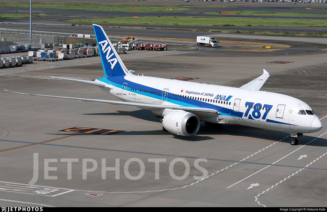 JA807A - Boeing 787-8 Dreamliner - All Nippon Airways (Air Japan)