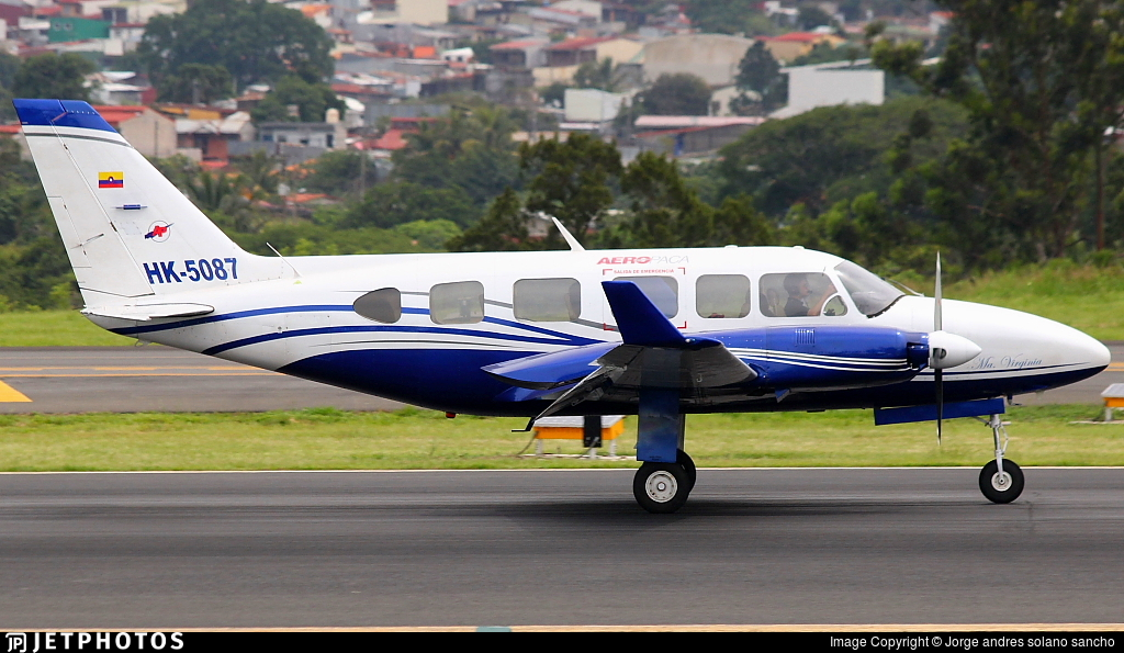 HK-5087 - Piper PA-31-350 Chieftain - AeroPaca