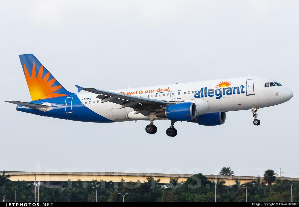 Allegiant Airbus A320 Allegiant Airbus A320 214 N248nv