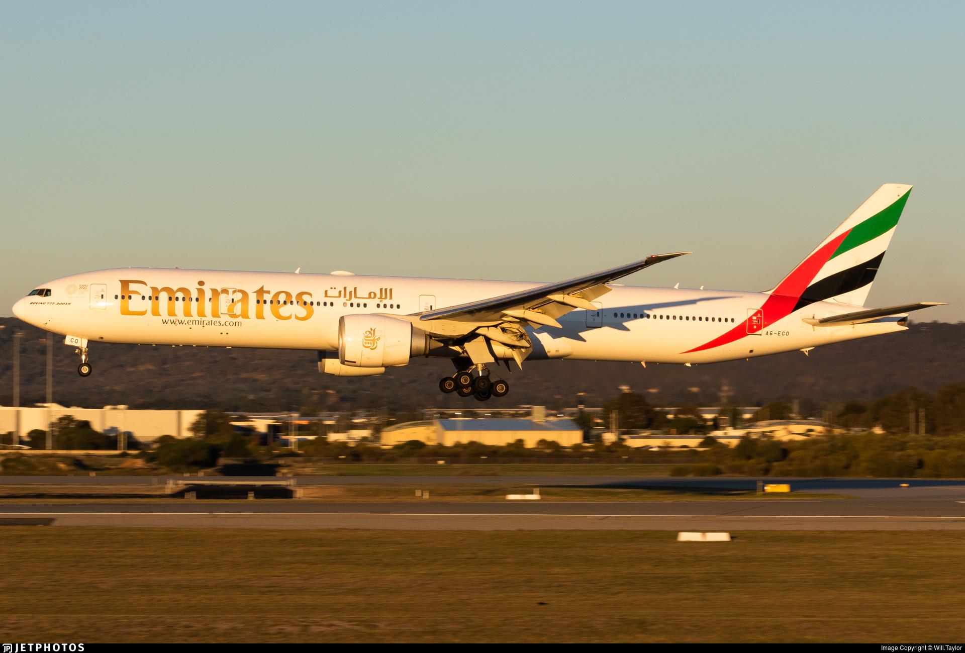 A6-ECO - Boeing 777-36NER - Emirates