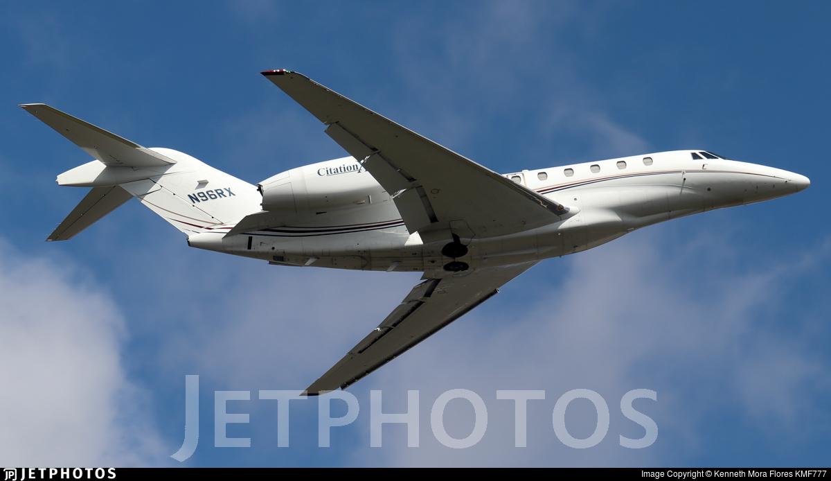 N96RX - Cessna 750 Citation X - Private