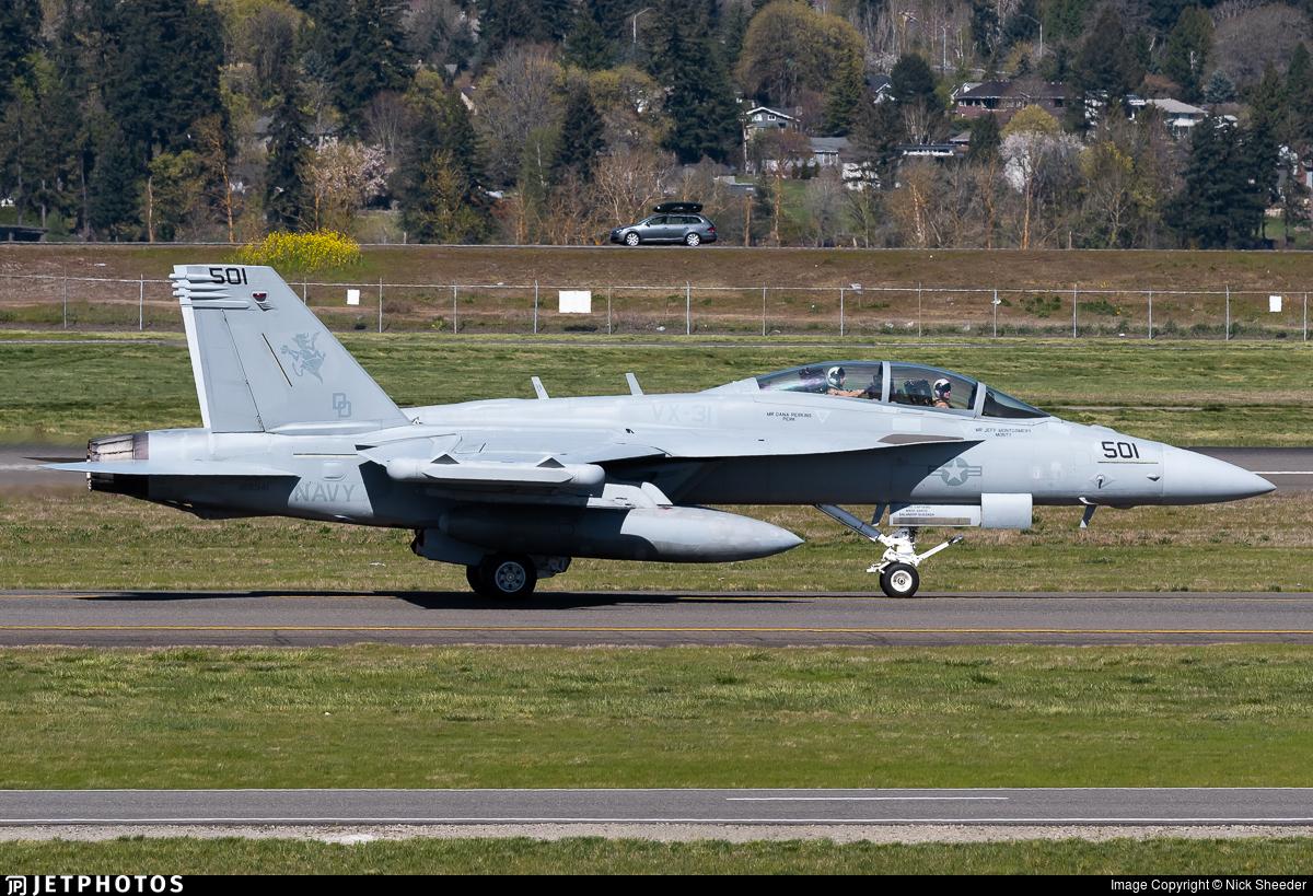 168941 - Boeing EA-18G Growler  - United States - US Navy (USN)