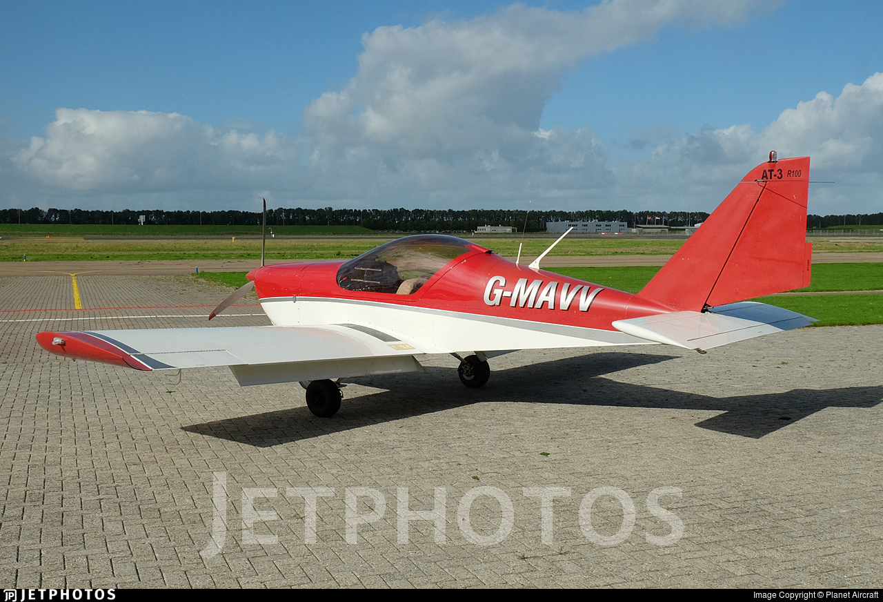 G-MAVV - Aero AT-3-R100 - Private