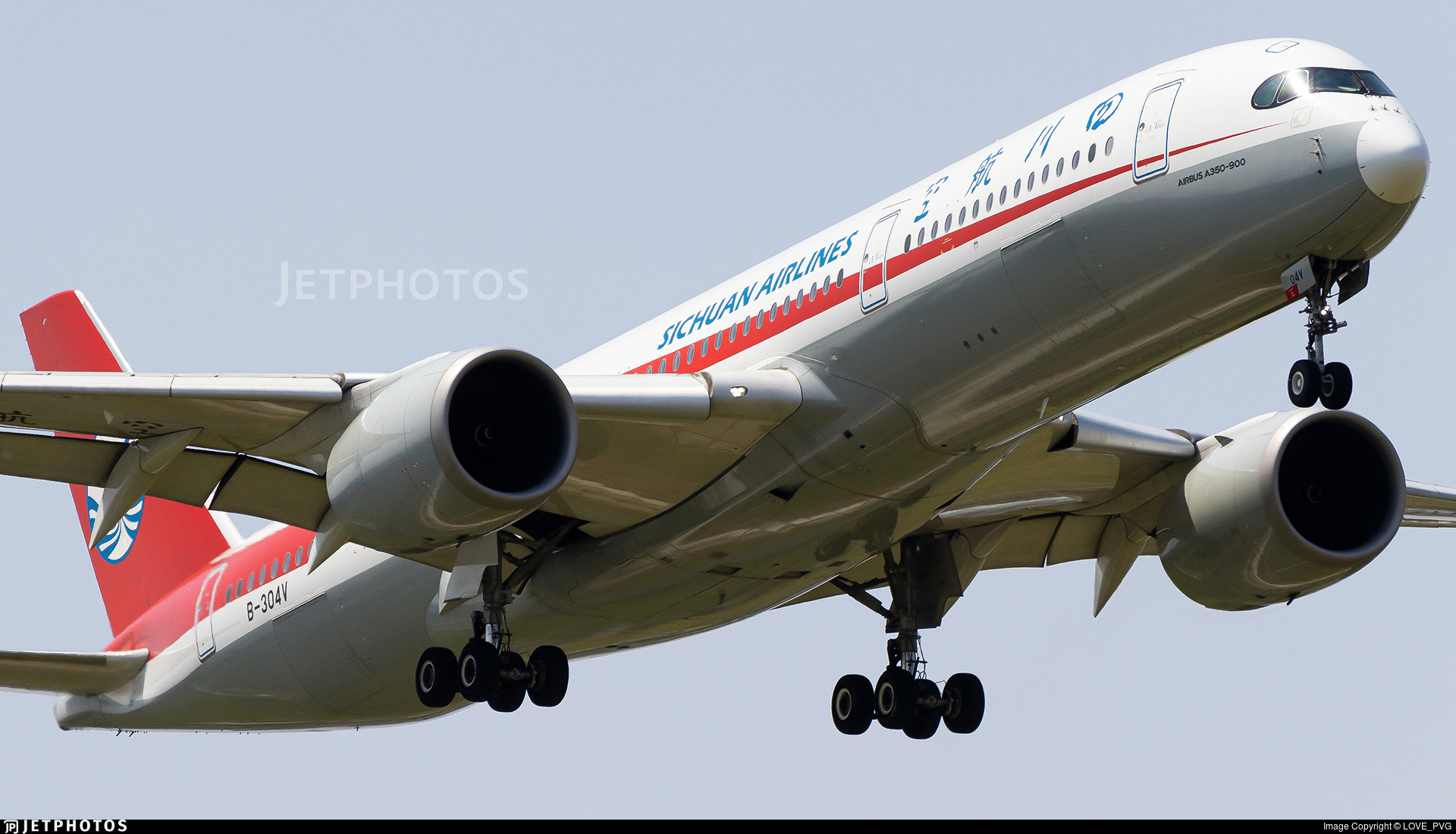 B-304V - Airbus A350-941 - Sichuan Airlines