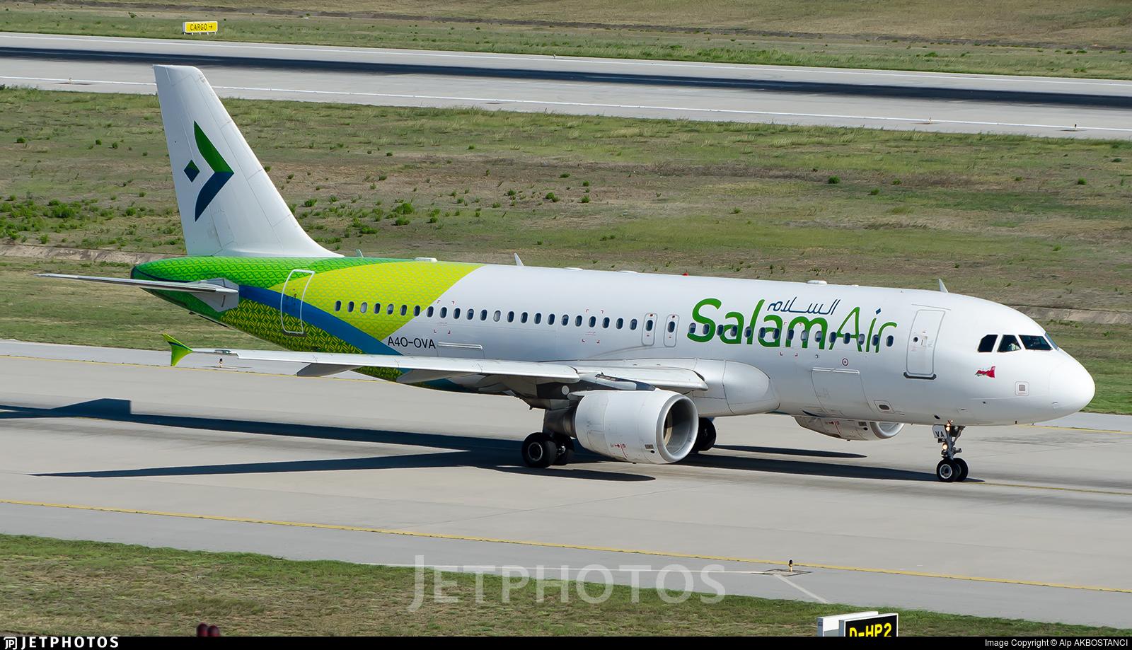 A4O-OVA - Airbus A320-214 - SalamAir