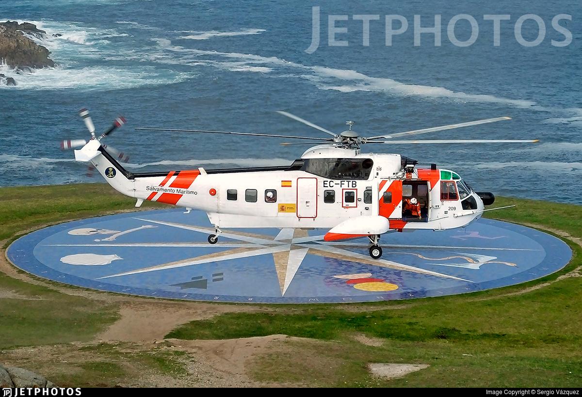 EC-FTB - Sikorsky S-61N - Spain - Sociedad de Salvamento y Seguridad Marítima (SASEMAR)