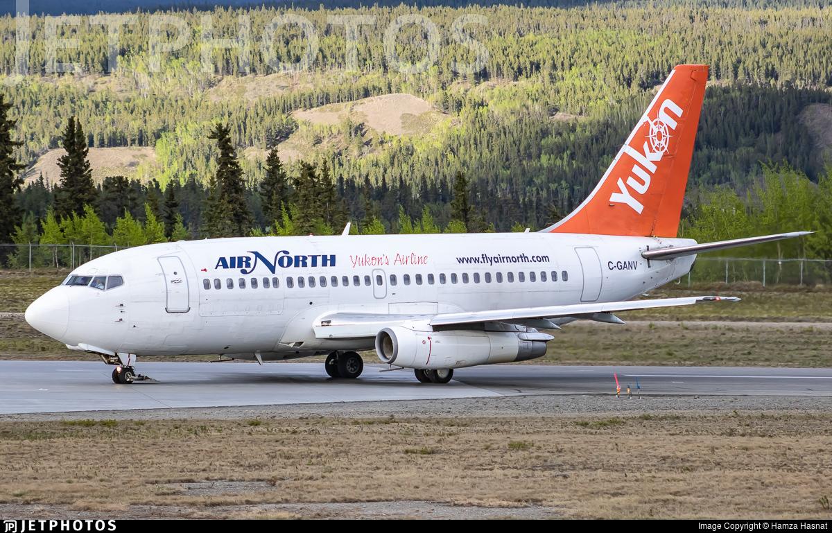 C-GANV - Boeing 737-2X6C(Adv) - Air North