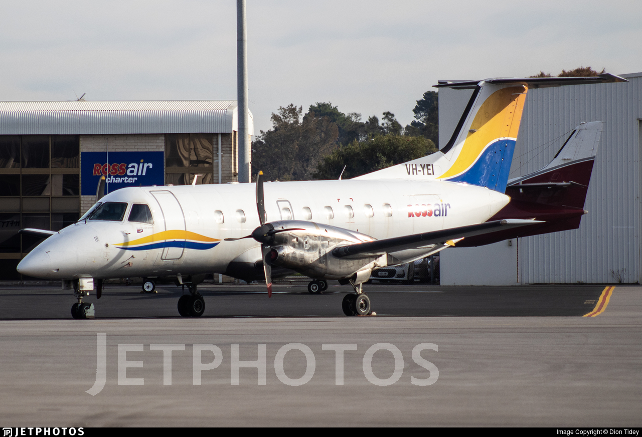 VH-YEI - Embraer EMB-120ER Brasília - Rossair Charter