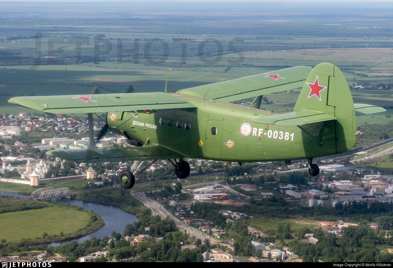 RF-00381 - PZL-Mielec An-2T - Russia - Voluntary Society for Assistance to the Army, Air Force and Navy (DOSAAF)
