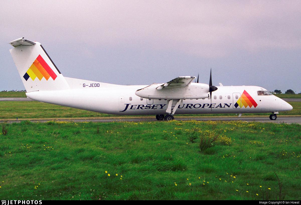 G-JEDD - Bombardier Dash 8-311 - Jersey European Airways