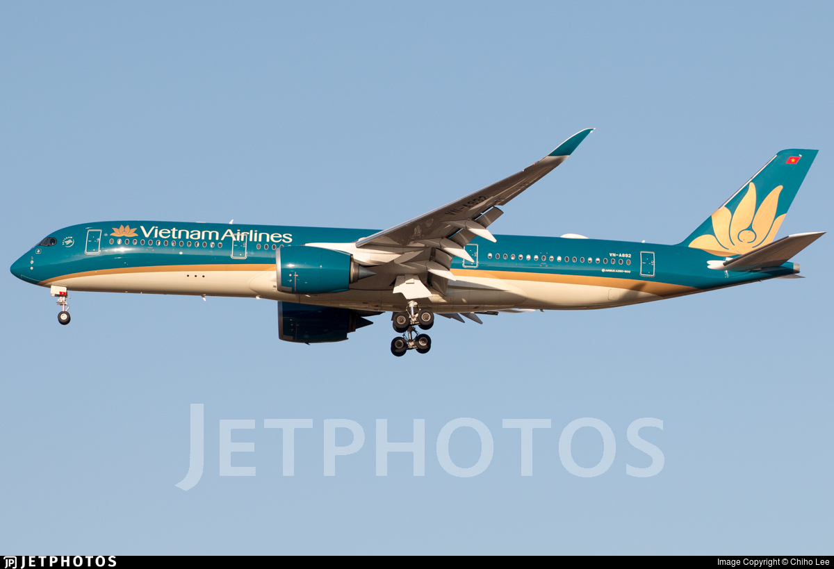 VN-A892 - Airbus A350-941 - Vietnam Airlines