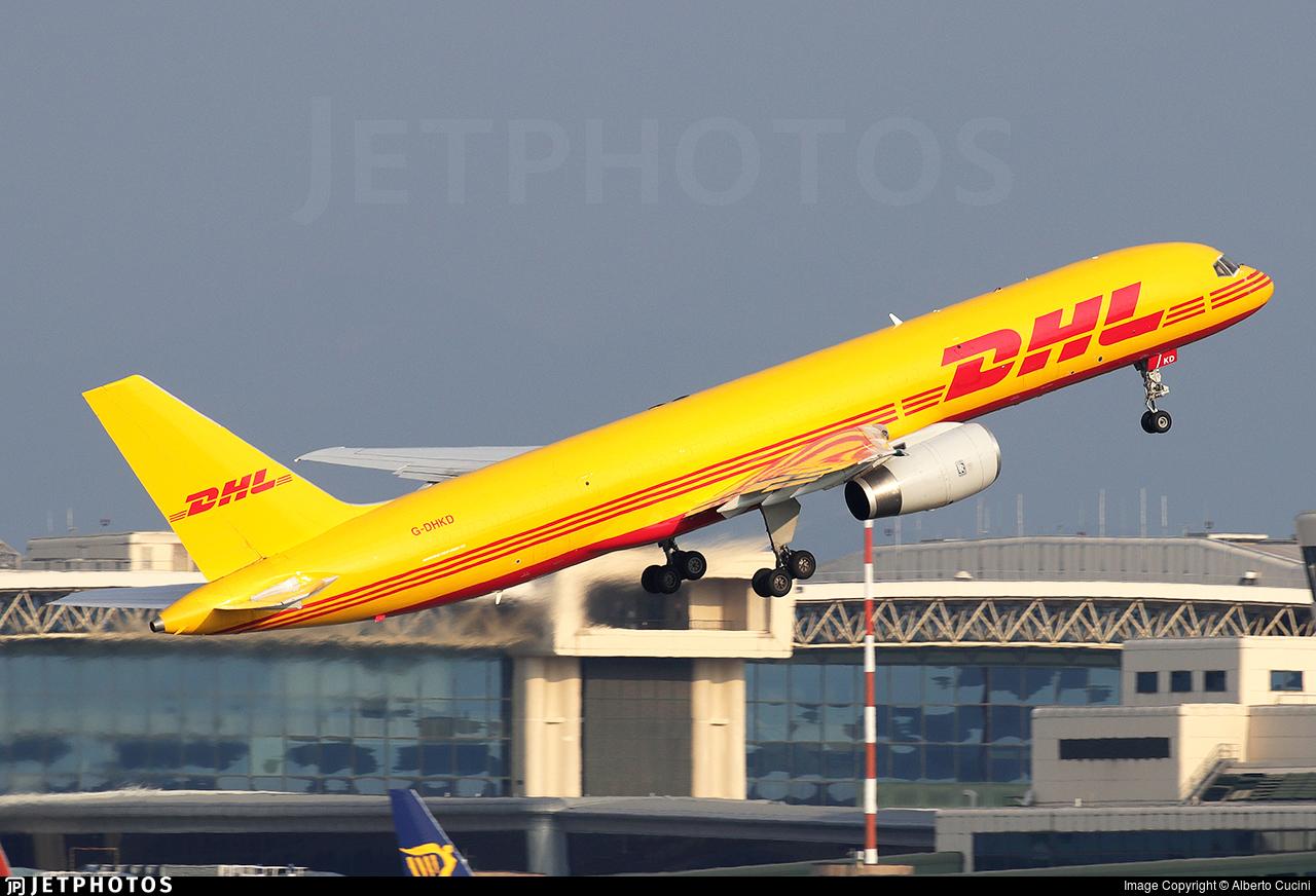 G-DHKD - Boeing 757-23N(PCF) - DHL Air