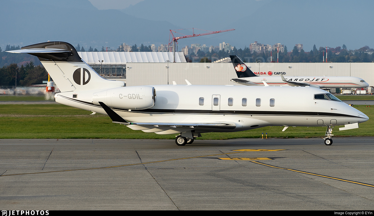 C-GDIL - Bombardier BD-100-1A10 Challenger 300 - Morningstar Partners