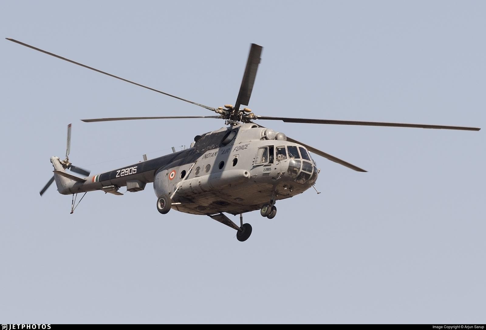 Z2905 - Mil Mi-17-1V Hip - India - Air Force