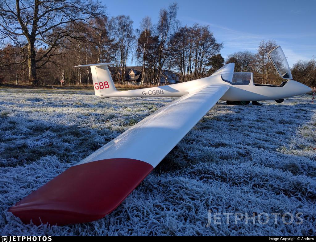 G-CGBB - Schleicher ASK-21 - Edinburgh University Gliding Club