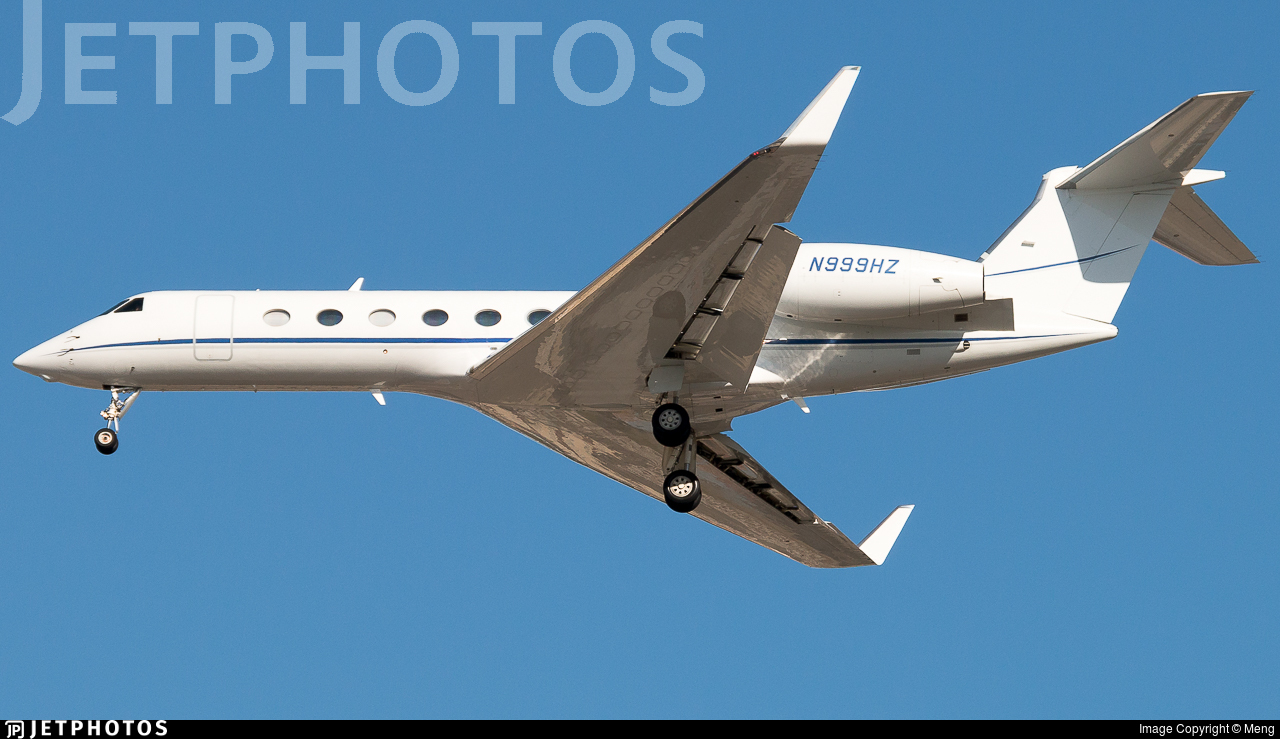 N999HZ - Gulfstream G550 - Private