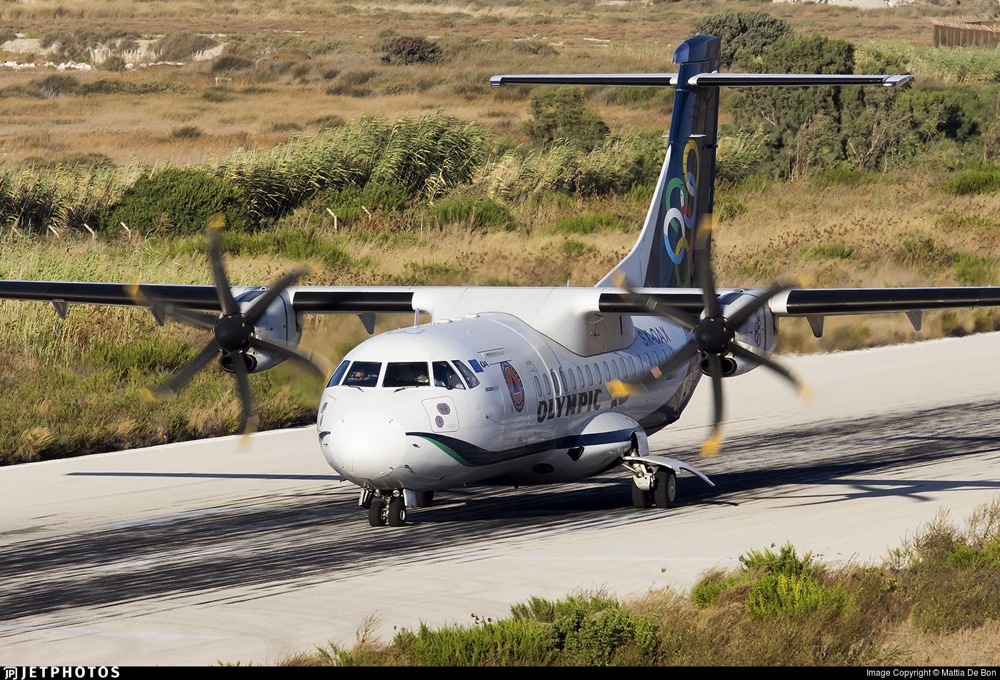 SX-OAX - ATR 42-600 - Olympic Air