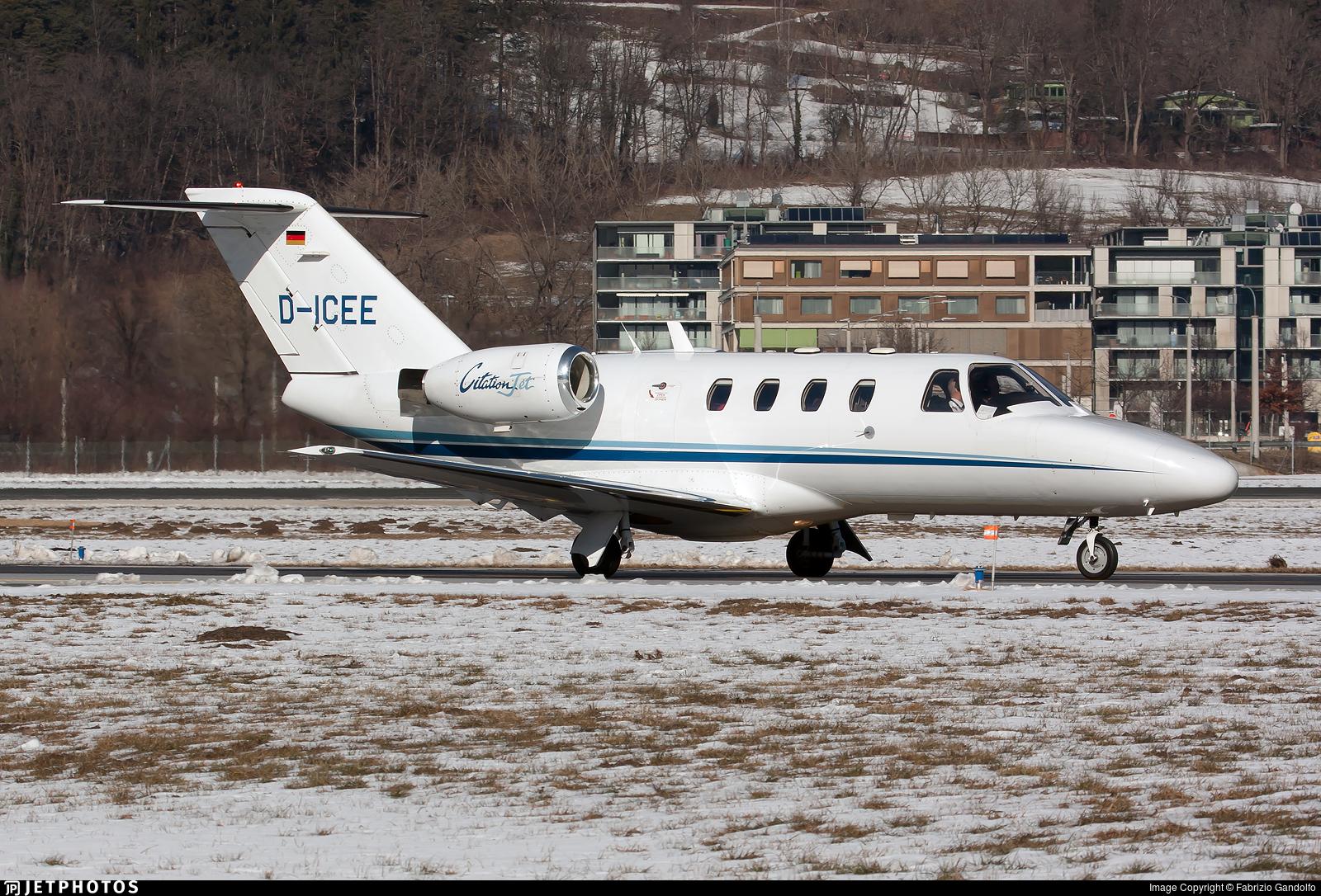 D-ICEE - Cessna 525 CitationJet 1 - E-Aviation