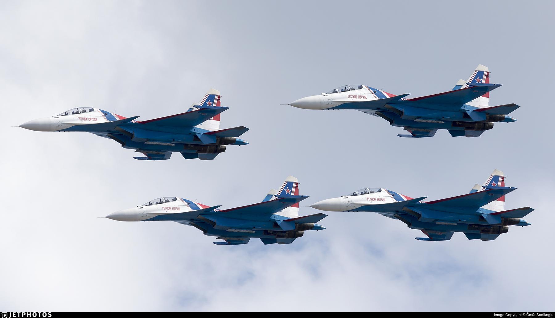 RF-81705 - Sukhoi Su-30SM - Russia - Air Force
