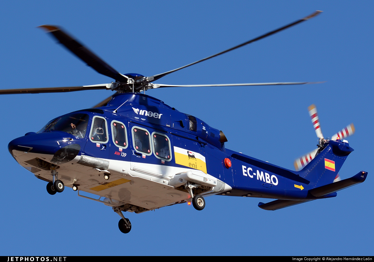 EC-MBO - Agusta-Westland AW-139 - Inaer