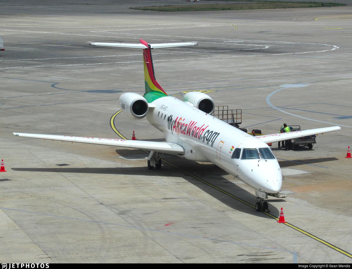 9G-AFQ - Embraer ERJ-145LI - Africa World Airlines