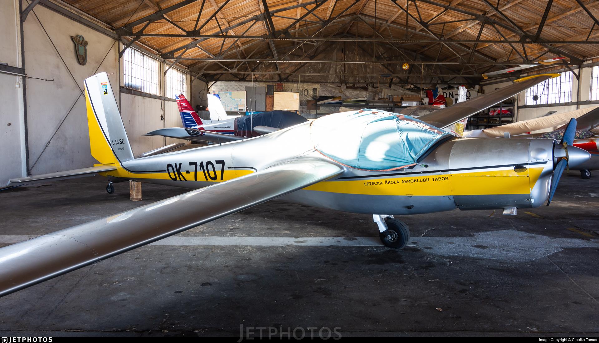 OK-7107 - Let L-13 Vivat - Aero Club - Tabor
