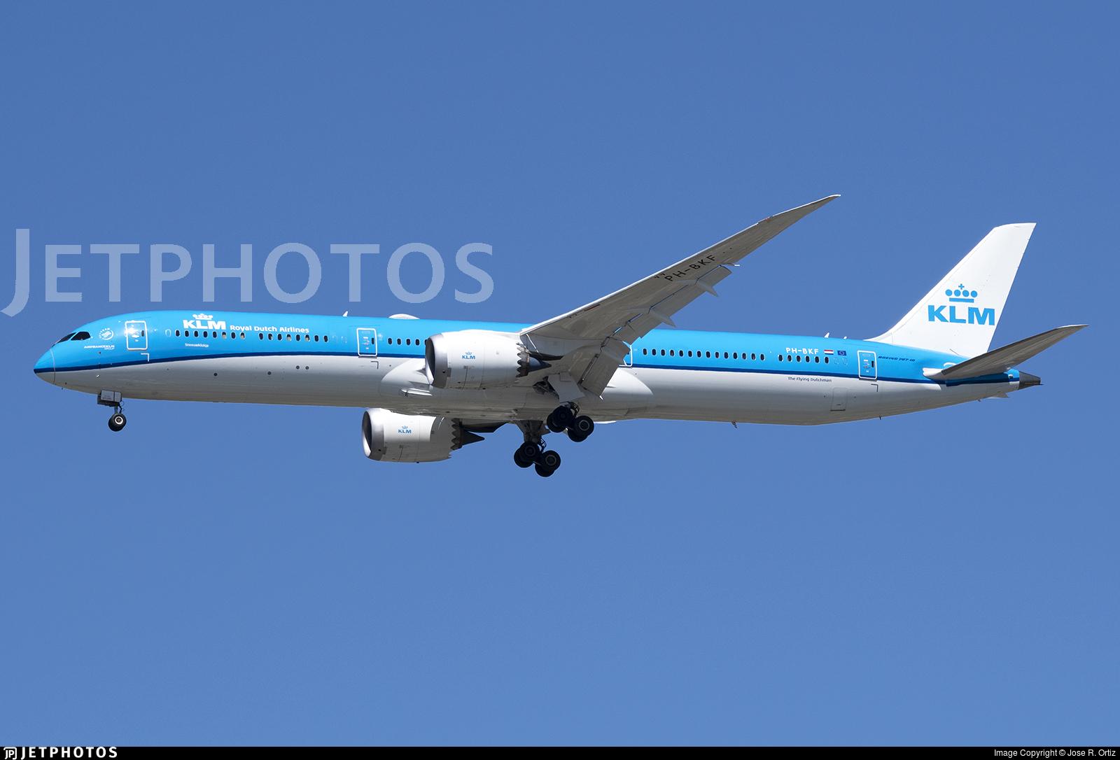 PH-BKF - Boeing 787-10 Dreamliner - KLM Royal Dutch Airlines