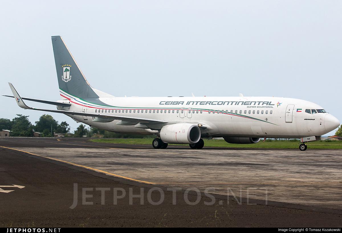 CS-FAF - Boeing 737-8FB - Ceiba Intercontinental Airlines