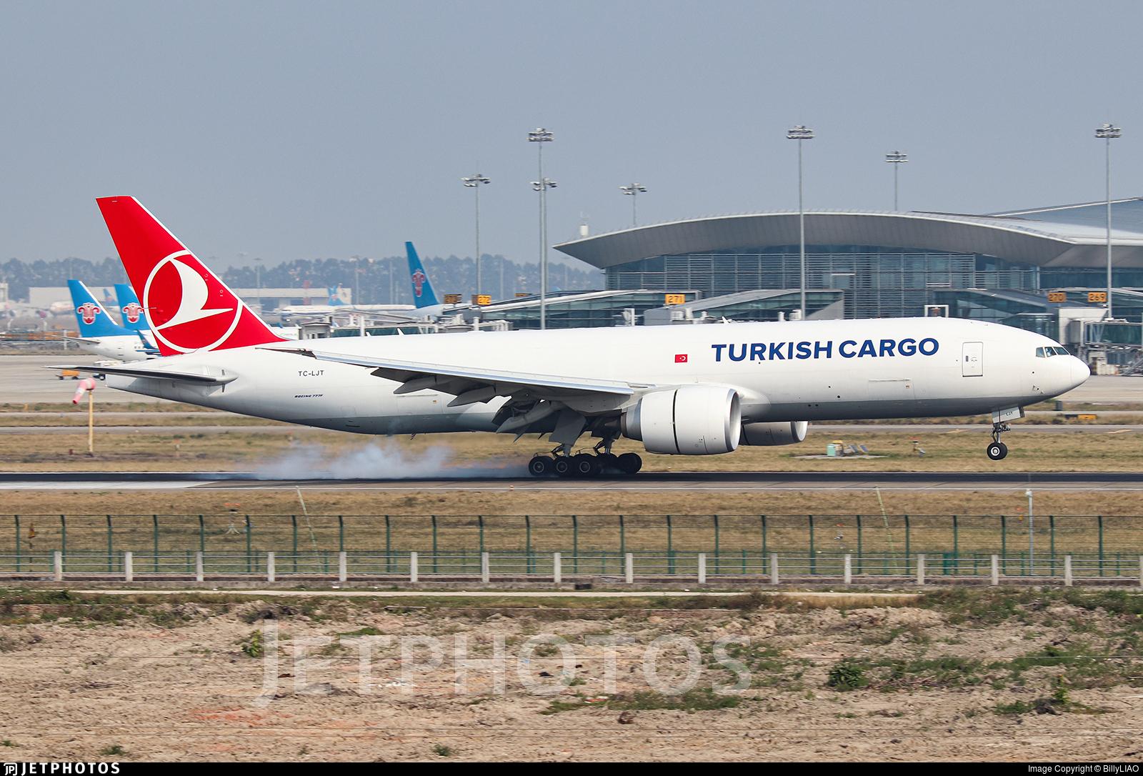 TC-LJT - Boeing 777-FF2 - Turkish Airlines Cargo