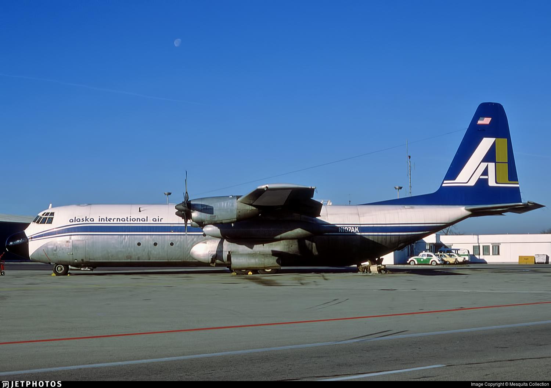 N107AK - Lockheed L-100-30 Hercules - Alaska International Air
