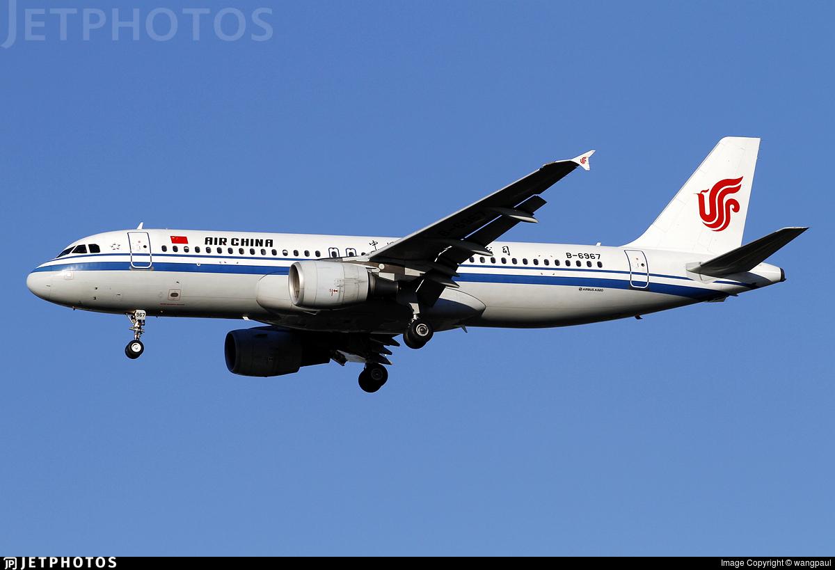 B-6967 - Airbus A320-214 - Air China