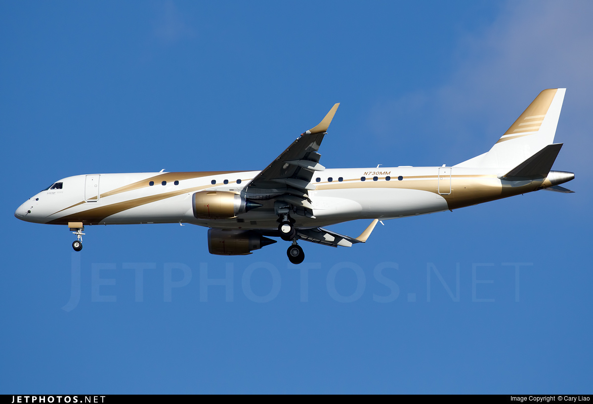 N730MM - Embraer 190 Lineage 1000 - Private