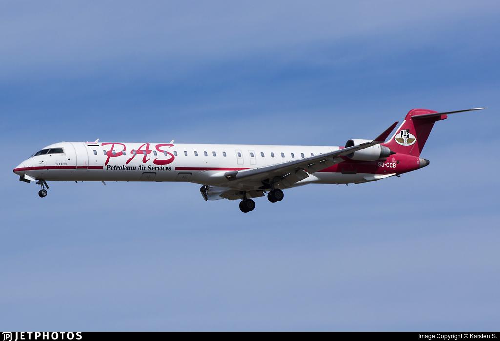 SU-CCB - Bombardier CRJ-900 - Petroleum Air Services (PAS)