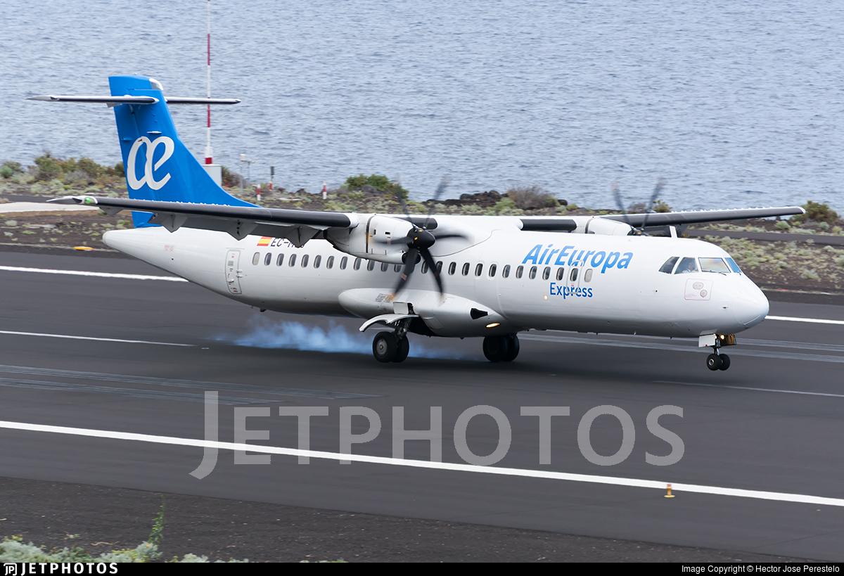 EC-MUJ - ATR 72-212A(500) - Air Europa Express