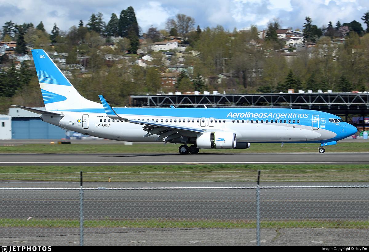 LV-GUC - Boeing 737-800 - Aerolíneas Argentinas