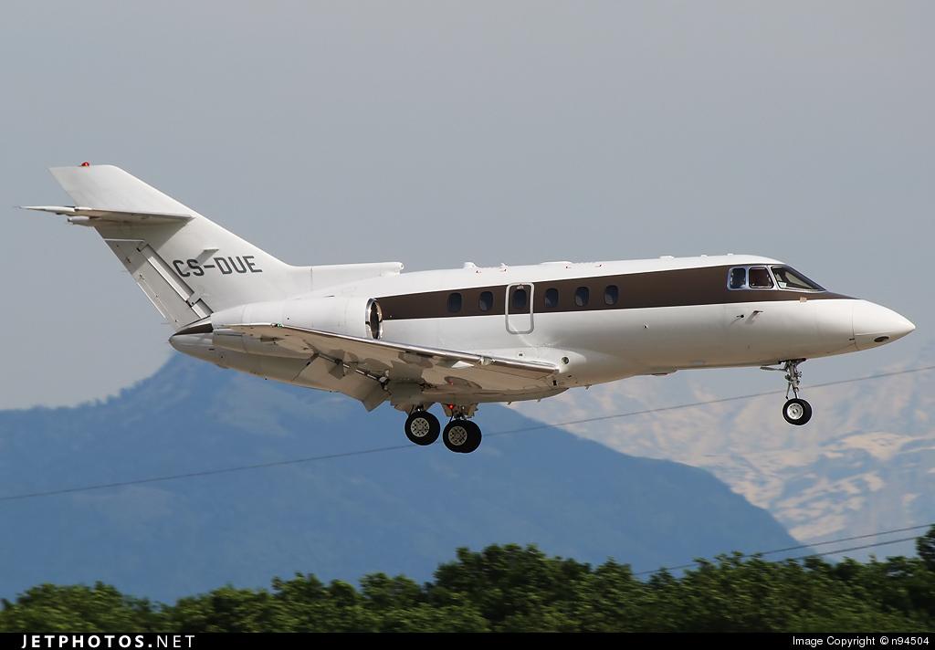 CS-DUE - Hawker Beechcraft 750 - NetJets Europe