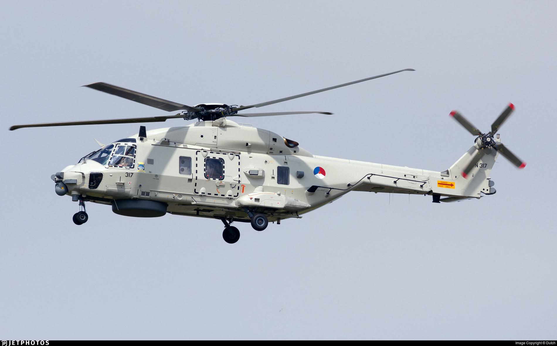 N-317 - NH Industries NH-90NFH - Netherlands - Navy