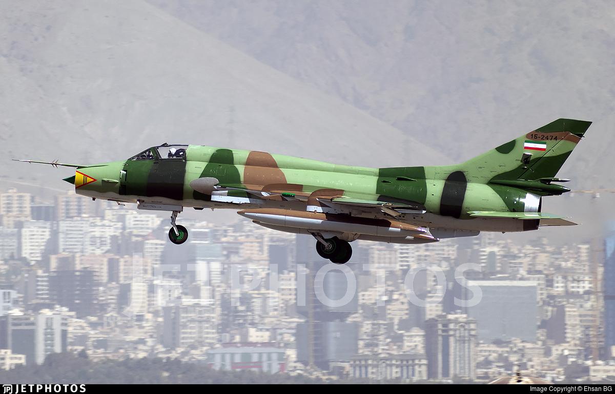 15-2474 - Sukhoi Su-22M4 Fitter K - Iran - Revolutionary Guard