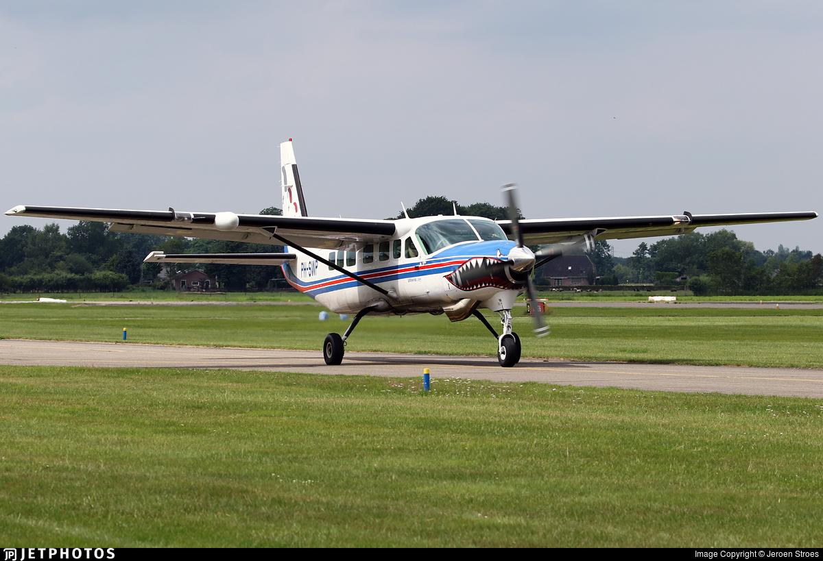 PH-SWP - Cessna 208B Grand Caravan - Nationaal Paracentrum Teuge