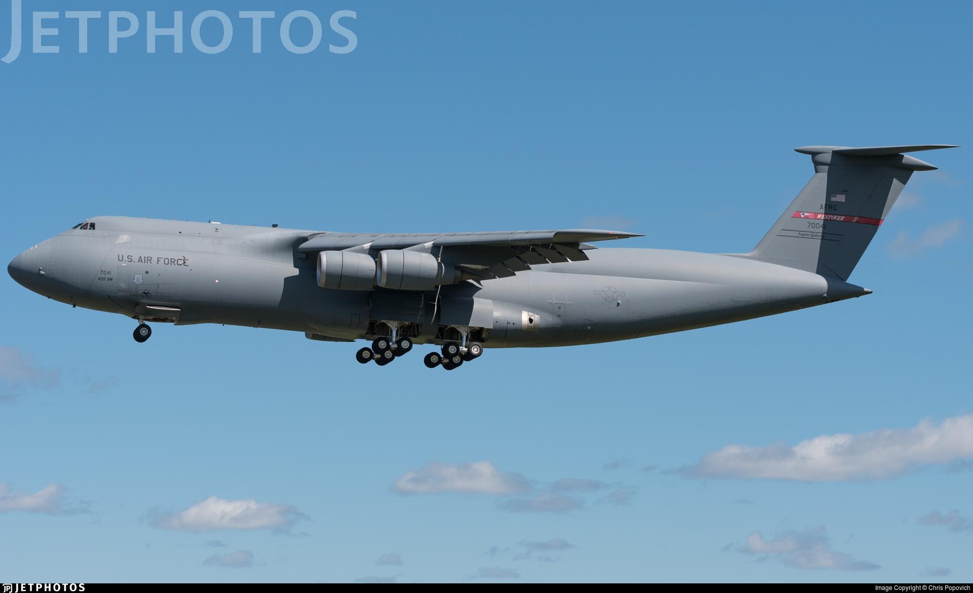 87-0041 - Lockheed C-5M Super Galaxy - United States - US Air Force (USAF)