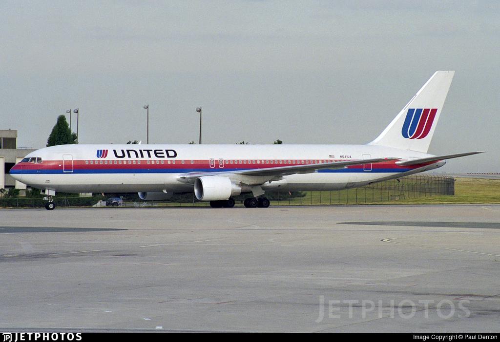 N641UA - Boeing 767-322(ER) - United Airlines